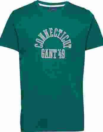 ανδρικό t-shirt gant πράσινο