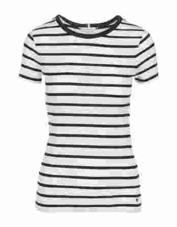 γυναικεία μπλούζα tommy άσπρο μπλε